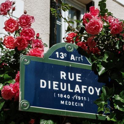 A different side of Paris; the Village des Peupliers