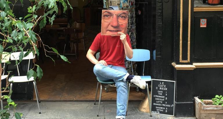 A secret address for you; the Café Curieux