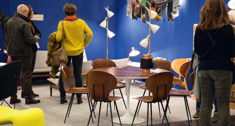 Stroll and browse at the Puces du Design in Paris