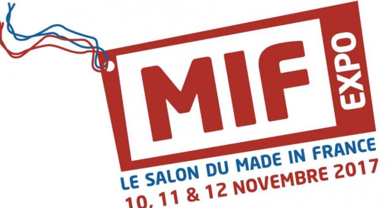 Made in France trade fair; 'red white and blue' products